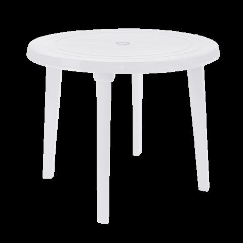 Стол круглый Ø90 см белый Алеана 100011