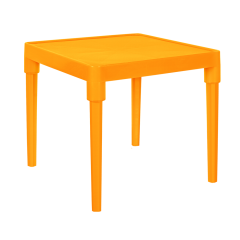 Стол детский Алфавит 51х51х47 см оранжевый Алеана 100025