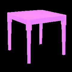 Стол детский Алфавит 51х51х47 см розовый Алеана 100025