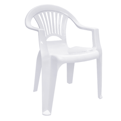 Стул Луч 58х57,5х77,5 см белый Алеана 101053