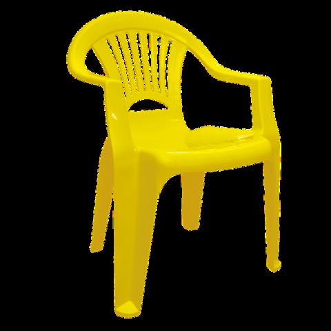 Стул Луч 58х57,5х77,5 см жёлтый Алеана 101053