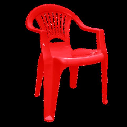 Стул Луч 58х57,5х77,5 см красный Алеана 101053