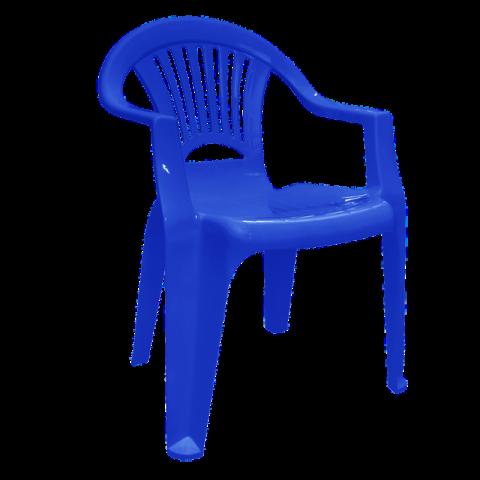 Стул Луч 58х57,5х77,5 см синий Алеана 101053