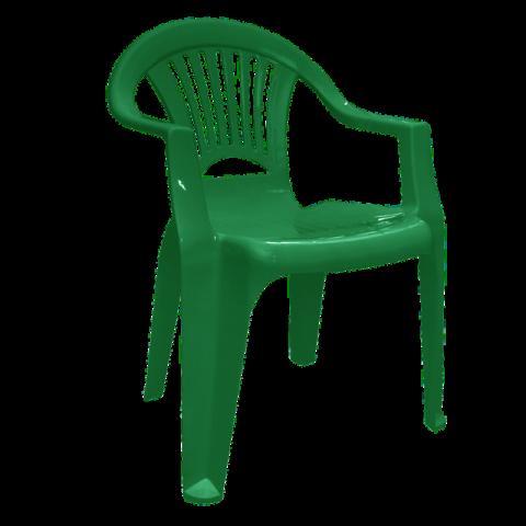Стул Луч 58х57,5х77,5 см зелёный Алеана 101053