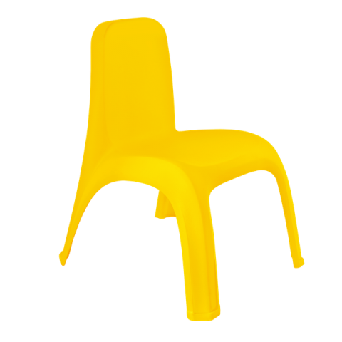 Стул детский 40,5х42х53 см жёлтый Алеана 101062