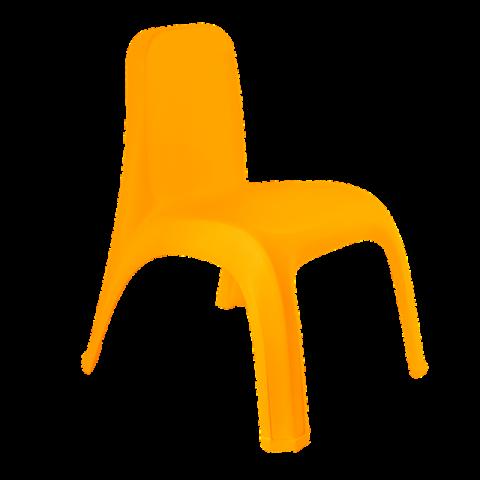 Стул детский 40,5х42х53 см оранжевый Алеана 101062