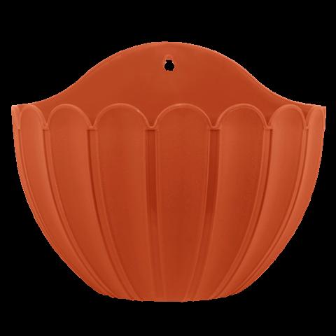 Вазон Марго настенный 1,8 л терракот Алеана (113030)