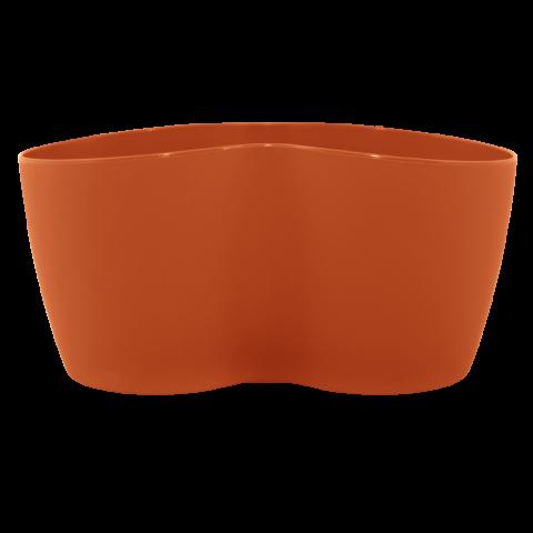 Вазон кактусник для нескольких растений 0,9 л терракот Алеана (113052)
