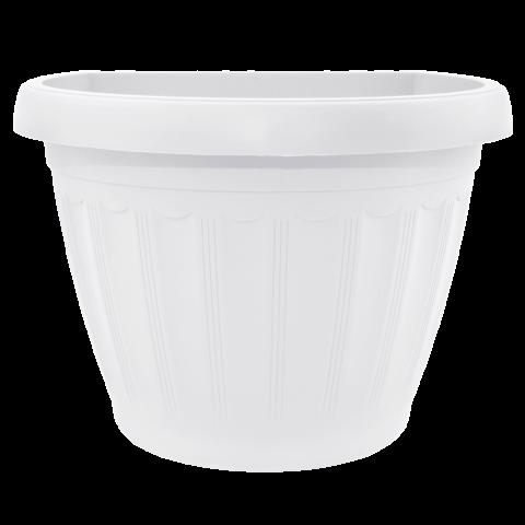 Вазон Терра настенный 1 л белый Алеана (113068)
