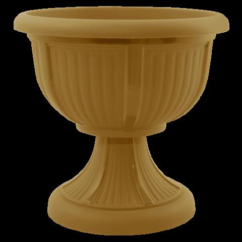 Вазон с подставкой Леон Ø21 бронза 1,8 л Алеана (114004)