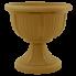 Вазон с подставкой Леон Ø41 бронза 15 л Алеана (114002)