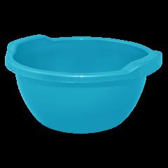 Таз круглый 3 л тёмно-голубой Алеана 121051