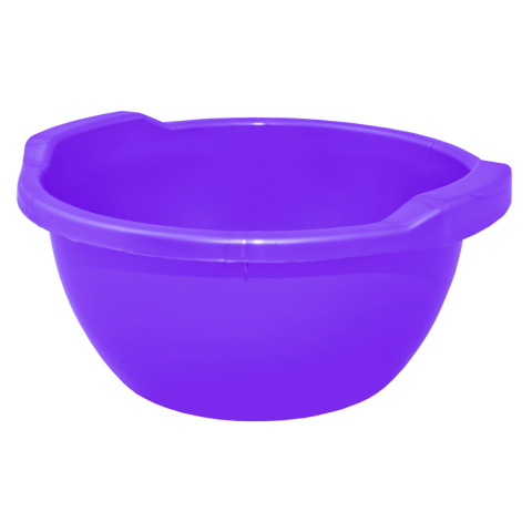 Таз круглый 3 л фиолетовый Алеана 121051