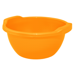 Таз круглый 3 л оранжевый Алеана 121051