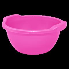 Таз круглый 3 л розовый Алеана 121051