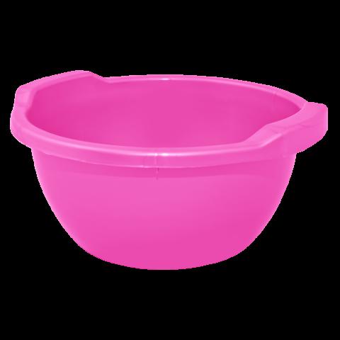 Таз круглый 5 л розовый Алеана 121052