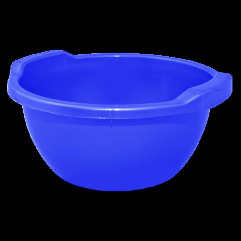 Таз круглый 24 л синий Алеана 121055