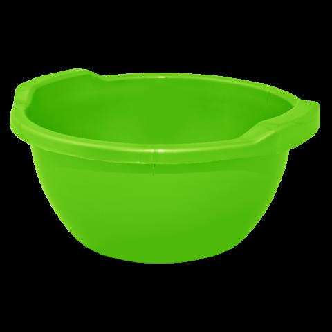 Таз круглый 8 л зелёный Алеана 121053