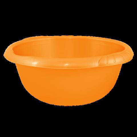 Таз Евро 9 л круглый оранжевый Алеана 121058