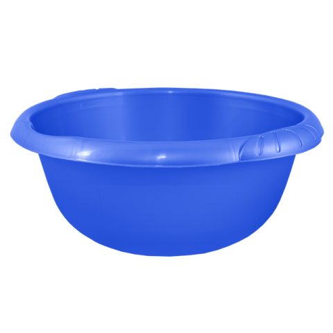 Таз Евро 9 л круглый синий Алеана 121058