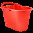 Ведро для уборки 14 л красное Алеана 122024