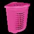 Корзина для белья розовая 45 л розовая Алеана (122051)
