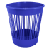 Корзина для бумаг 12 л синяя Алеана (122052)