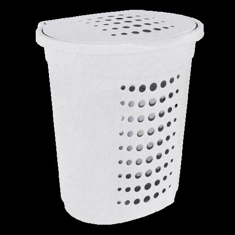 Корзина для белья 60 л мрамор Алеана (122053)