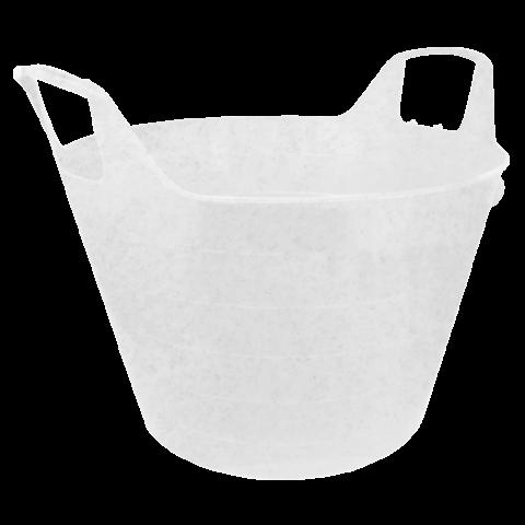Корзина универсальная Уно 29 л белая Алеана (122090)