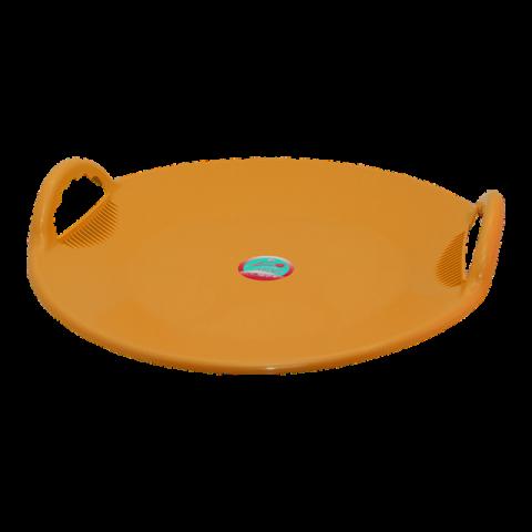 Санки Космо 59х57х12 см оранжевые Алеана 122094