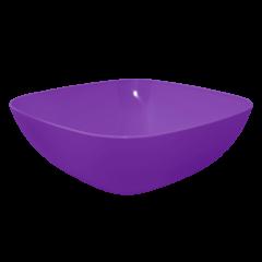 Тарелка глубокая 0,5 л 15х15х5,5 см фиолетовая Алеана