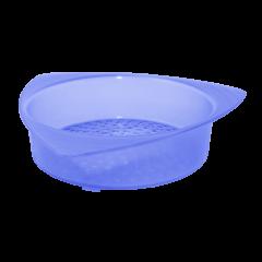 Сетка сливная для банки 14х13,5х3,5 см синяя Алеана 167003