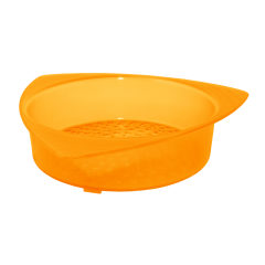 Сетка сливная для банки 14х13,5х3,5 см оранжевая Алеана 167003
