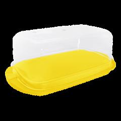Масленка 17,1х9х6,6 см жёлтая Алеана 167009