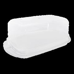 Масленка 17,1х9х6,6 см белая Алеана 167009