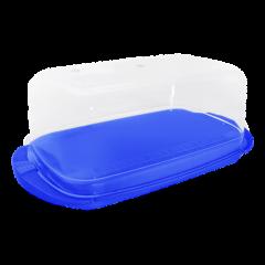 Масленка 17,1х9х6,6 см синяя Алеана 167009