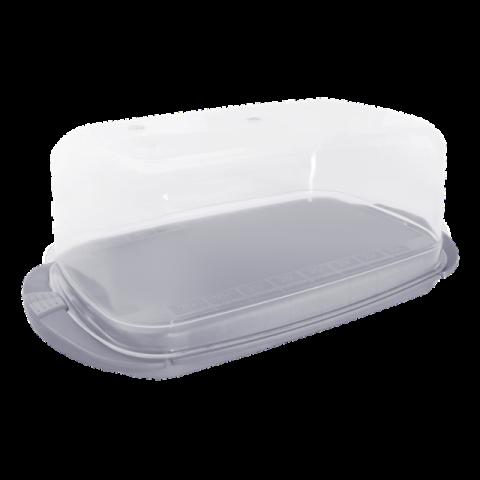 Масленка 17,1х9х6,6 см серая Алеана 167009