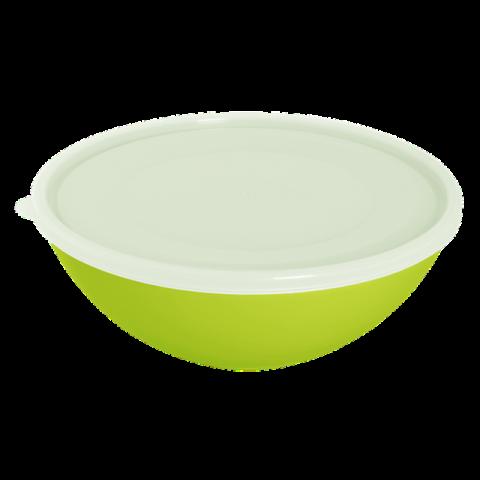 Миска с крышкой 2 л салатовая Алеана 167017