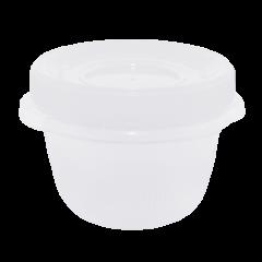Набор контейнеров Омега 285 мл 3 шт. для пищевых продуктов белая крышка Алеана 167037