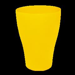 Набор бокалов 0,5 л 10 шт жёлтый матовый Алеана 167202