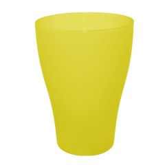 Набор бокалов 0,5 л 10 шт жёлтый прозрачный Алеана 167202
