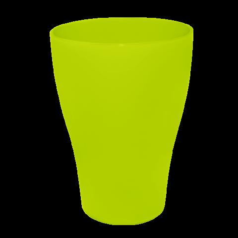 Стакан 0,25 л 10 шт зелёный матовый Алеана 167096