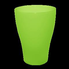 Набор бокалов 0,5 л 10 шт зелёный прозрачный Алеана 167202