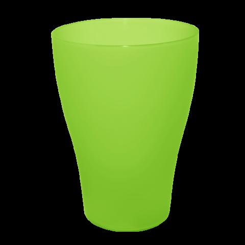 Набор бокалов 0,5 л 6 шт зелёный прозрачный Алеана 167207