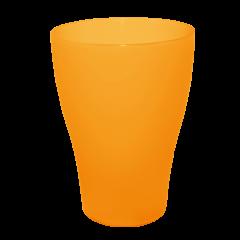 Набор бокалов 0,5 л 10 шт оранжевый прозрачный Алеана 167202