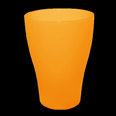 Набор бокалов 0,5 л 6 шт оранжевый прозрачный Алеана 167207
