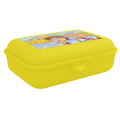 Бутербродница 19х13,5х6,5 см жёлтая Алеана 167400