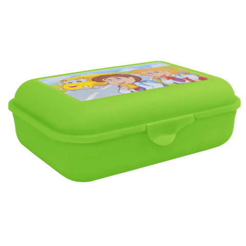 Бутербродница 19х13,5х6,5 см салатовая Алеана 167400