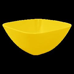 Салатница 0,3 л жёлтая матовая Алеана 168001