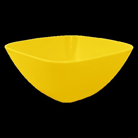 Салатница 2,5 л жёлтая матовая Алеана 168003